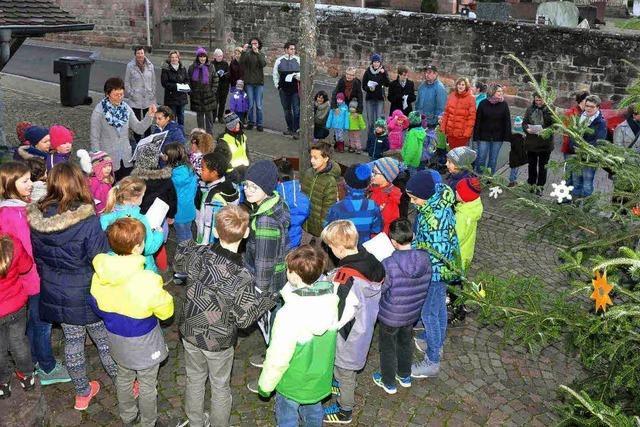 Adventssingen in Oberweier