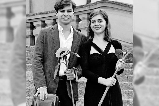 Mit Violine und Klavier für die regionale Flüchtlingshilfe