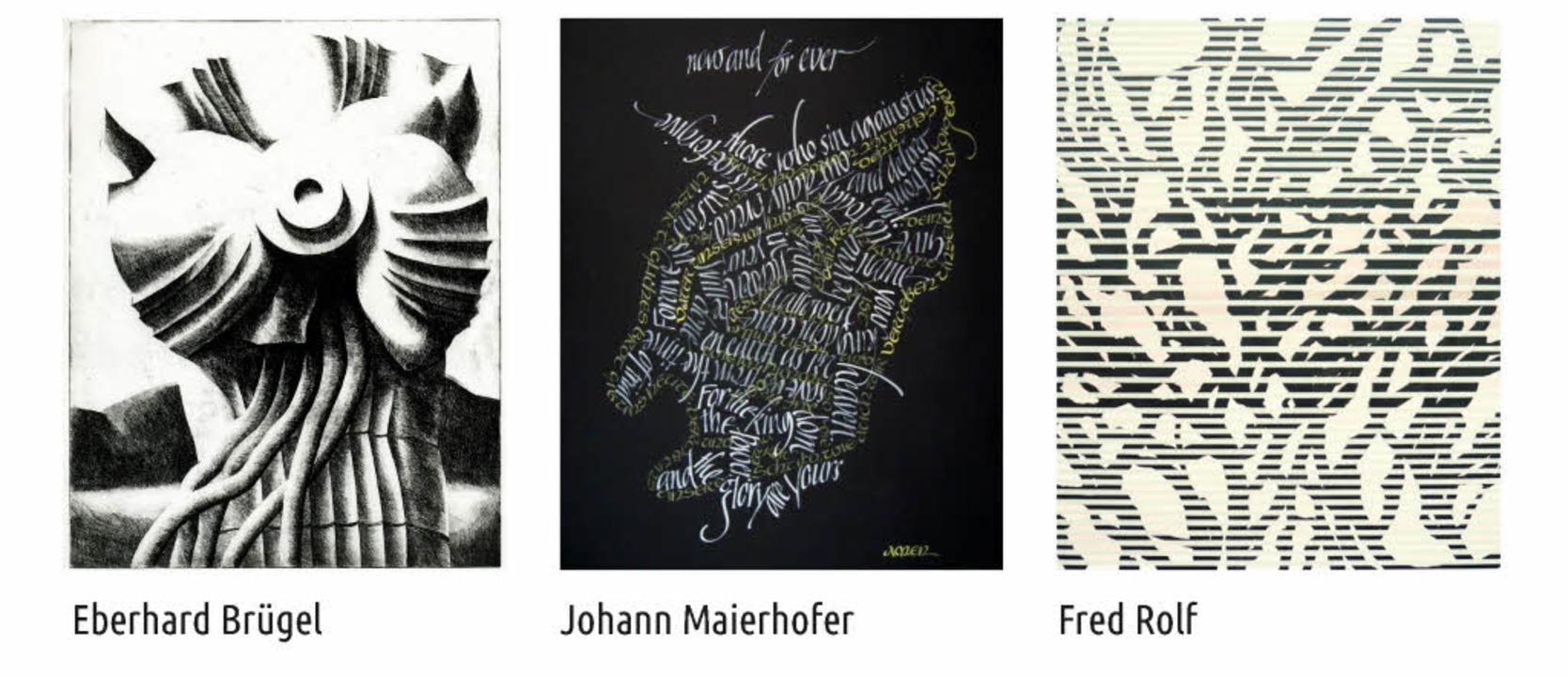 Gleich drei Künstler stellen im Kunsth... Märgen die Linie in den Mittelpunkt.   | Foto: Kunsthaus St. Märgen