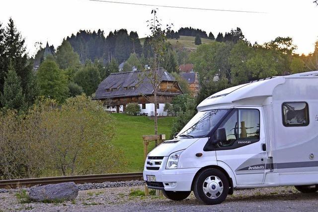 Anlegestellen für Wohnmobile schaffen