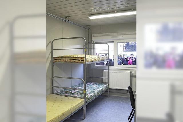 Bürgermeister Metz sieht keine Alternative zu Wohncontainern