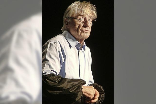 Komiker Emil Steinberger mit im Gloria-Theater