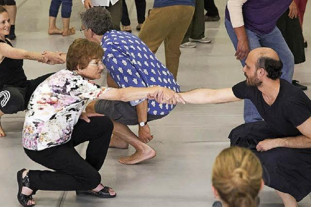 Ein Tanzprojekt mit Parkinsonkranken