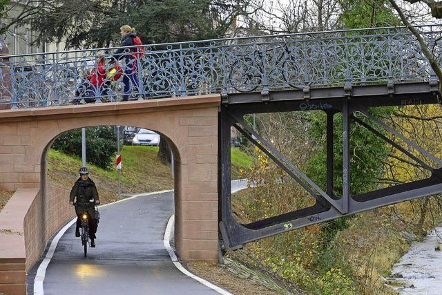 Dreisamuferradweg ausgebaut: Freie Fahrt für Radler