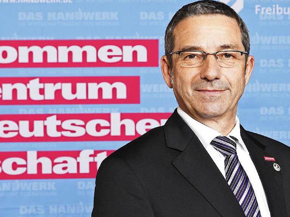 Entlastet: Johannes Ullrich, Präsident der Handwerkskammer Freiburg.  | Foto: HWK