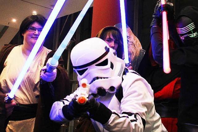 Wie war's bei...der Star-Wars-Premiere in Freiburg?