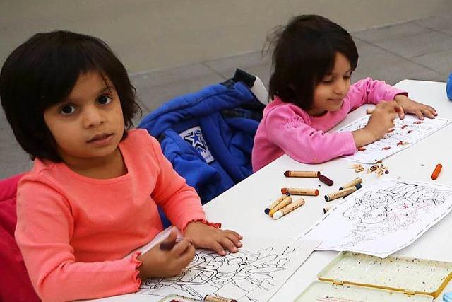 Ein paar unbeschwerte Stunden für Flüchtlingskinder in Lahr
