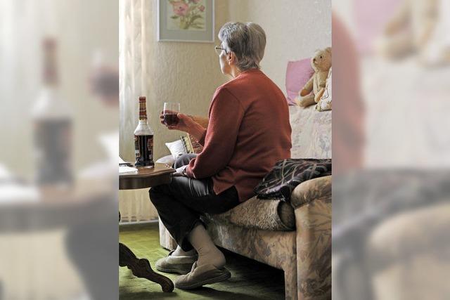 Hilfe für ältere Alkoholkranke