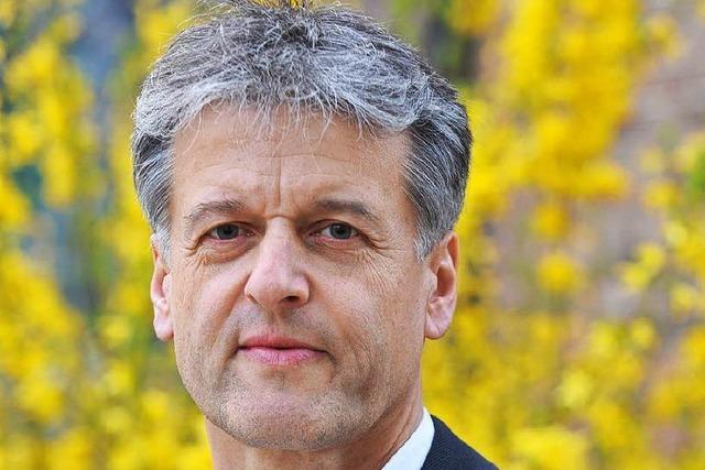 Gunther Braun ist Kandidat Nummer zwei