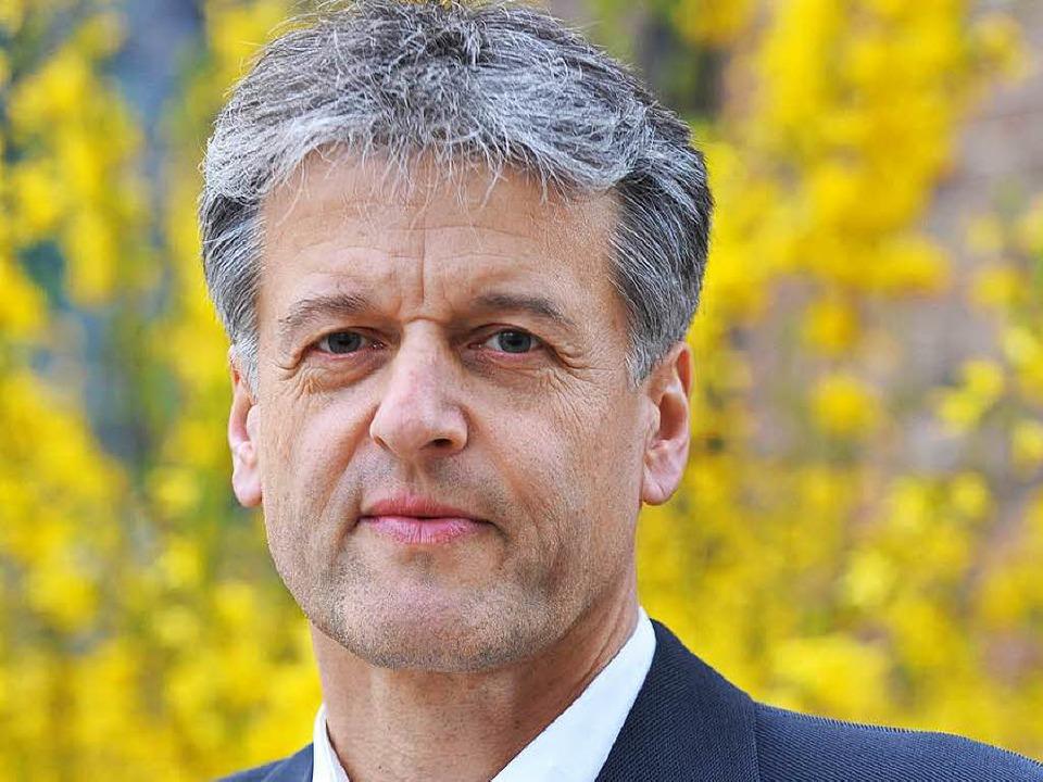Gunther Braun aus Hägelberg bewirbt si... das Amt des Steinener Bürgermeisters.  | Foto: BZ
