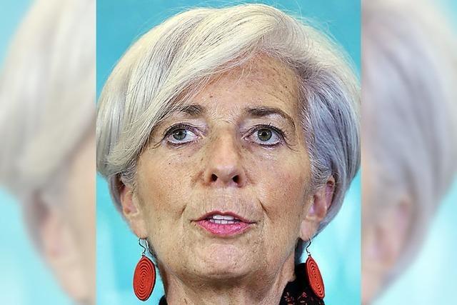 Strafverfahren gegen IWF-Chefin