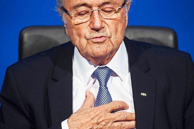 Blatter-Vernehmung vor Ethikkommission hat begonnen