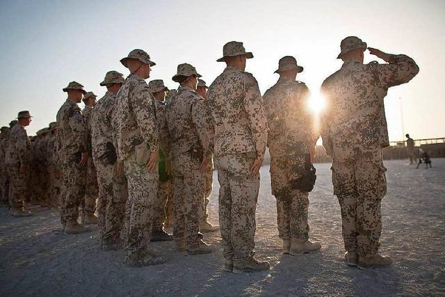 Bundeswehr-Truppe in Afghanistan wird aufgestockt