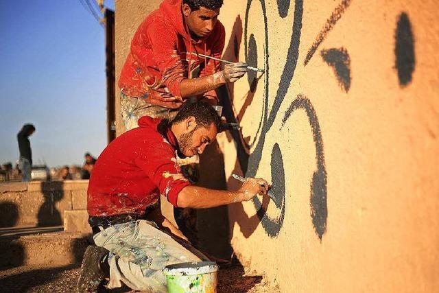 Streetart im palästinensischen Flüchtlingslager