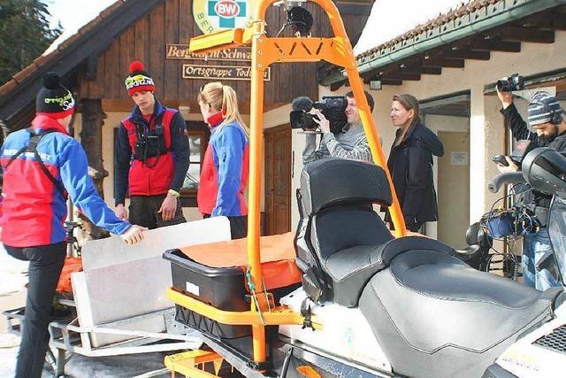Wie war's bei … der Preview der SWR-Bergwacht-Doku?