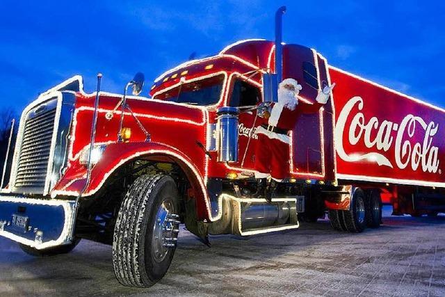 Warum manche Emmendinger keine Lust auf den Coca-Cola-Weihnachtstruck haben