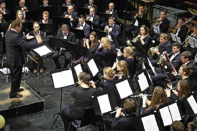 Stadtmusik Löffingen in Höchenschwand