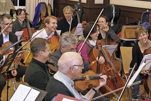 Collegium Musicum in der Erwin Braun Halle