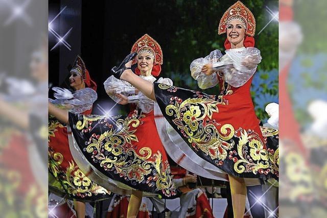 Ensemble Rusija aus Omsk Sibirien in der Kaiserwaldhalle