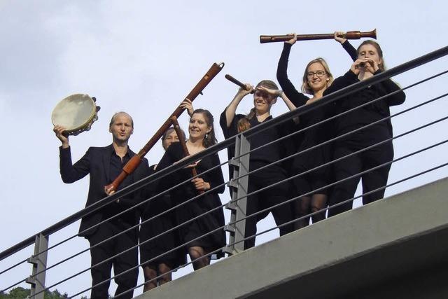 Flauto Consort auf de Alten Friedhof