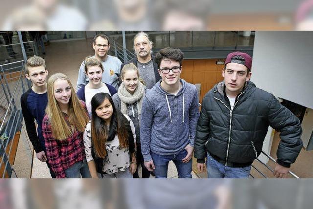 Kandidaten im Jugend-Kreuzverhör