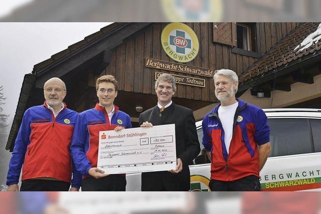 Multicopter hilft der Bergwacht künftig bei der Suche nach Vermissten