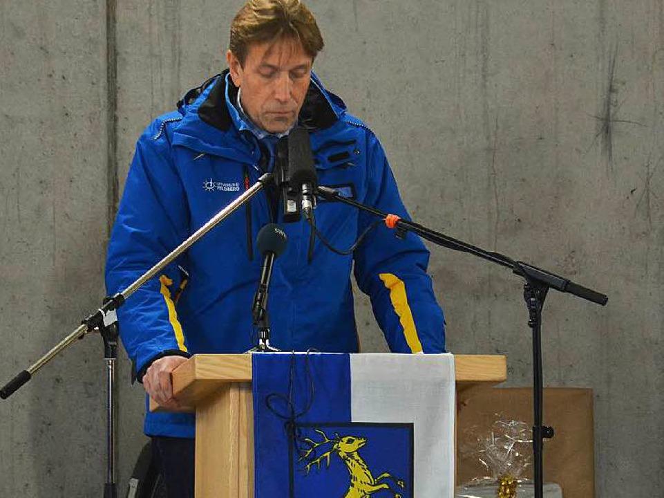 St. Blasien Bürgermeister Rainer Fritz...sien ist Eigentümerin und Betreiberin.  | Foto: Sebastian Barthmes