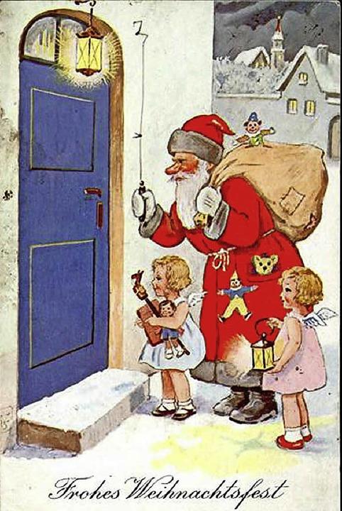 Weihnachtsmann mit Engeln (1938)  | Foto: Sarah Nöltner
