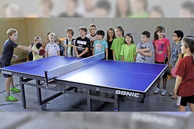 Schulmeister im Tischtennis