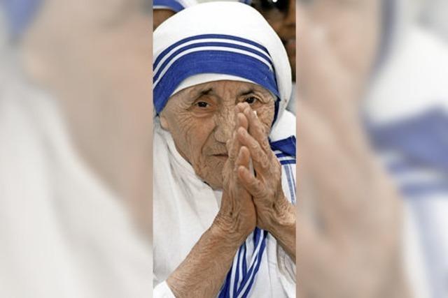 Papst Frankziskus will Mutter Teresa heiligsprechen