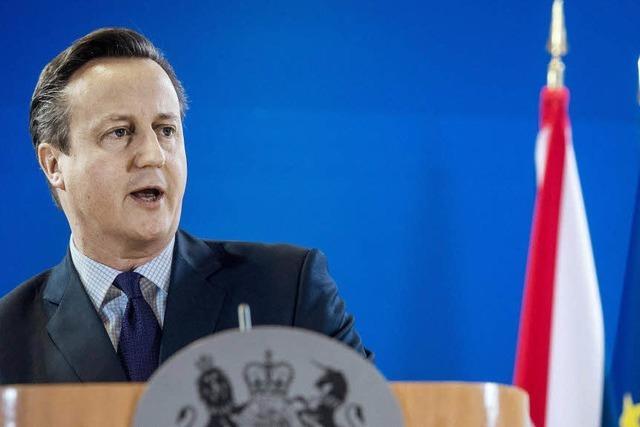 EU setzt Cameron eine klare Grenze