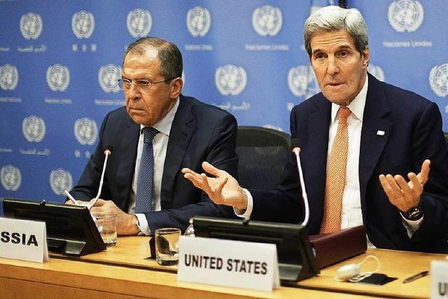 Vereinte Nationen einigen sich auf Friedensplan für Syrien