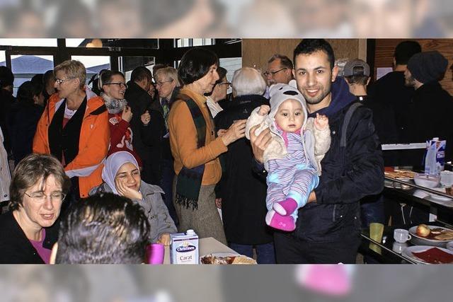 Flüchtlinge in Görwihl schätzen Hilfsbereitschaft der Bevölkerung