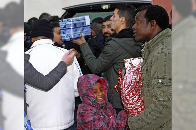 Bad Säckinger Flüchtlingshilfeverein Refugees Integrated verteilt 361 Spendengeschenke