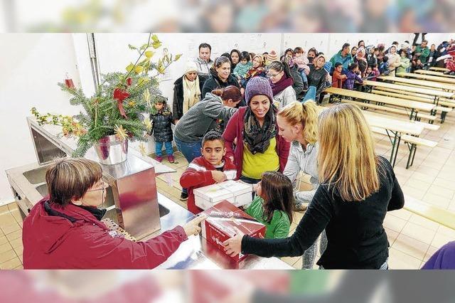 Eine Freude für die Flüchtlingskinder