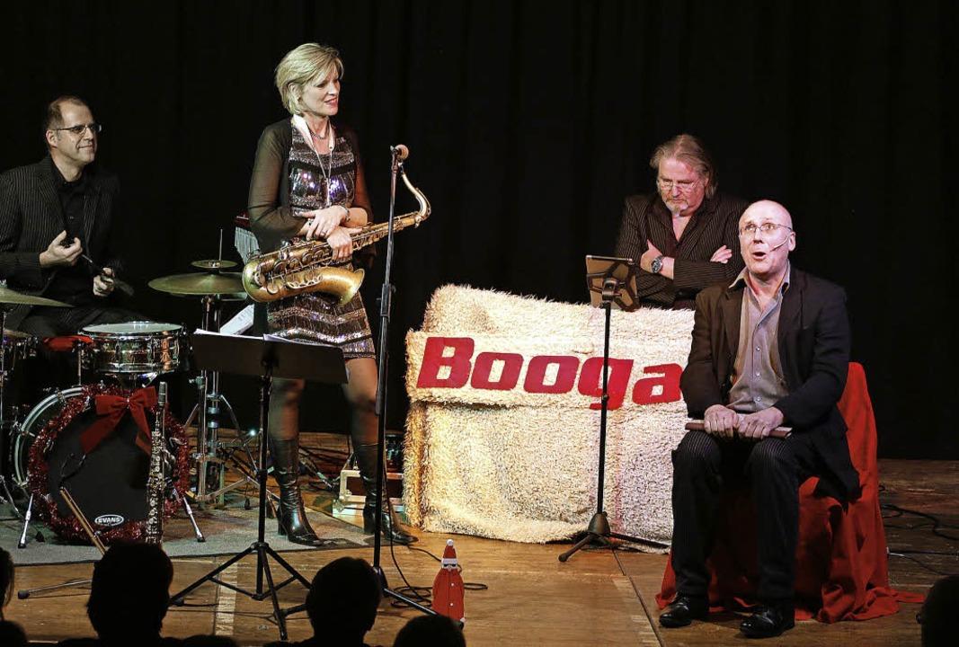 Für Boogaloo war der Auftritt in Lahr quasi ein Heimspiel.   | Foto: Heidi Fössel
