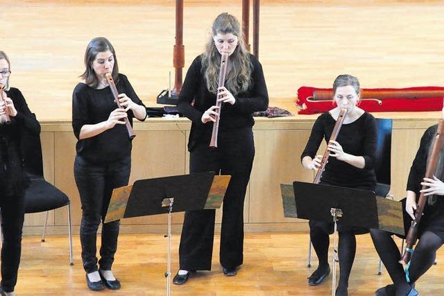 Ein Flötenensemble auf hohem Niveau – und mit Humor