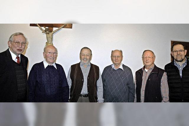 Seit 65 Jahren im Chor