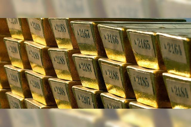 Gold-Transport auf geheimen Wegen