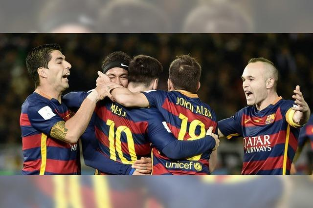 Der FC Barcelona ist Klub-Weltmeister