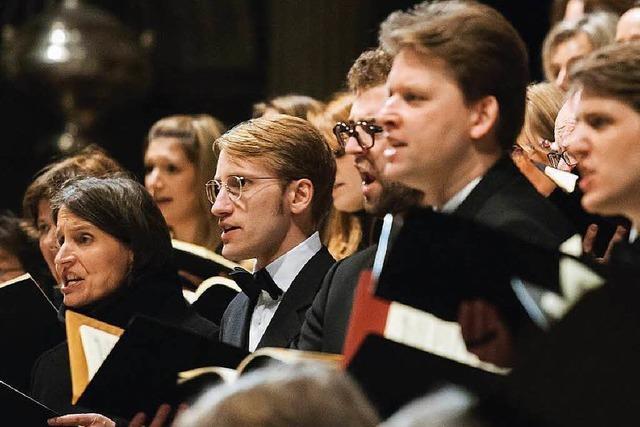 Der Bachchor begeistert unter der Leitung von Hannes Reich