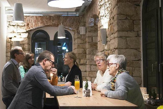 Ein Hotel-Restaurant im Alten Spital in Müllheim
