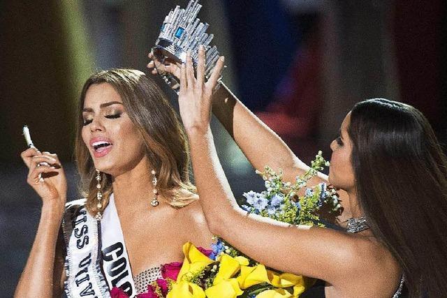 Moderator krönt zuerst falsche Miss Universe