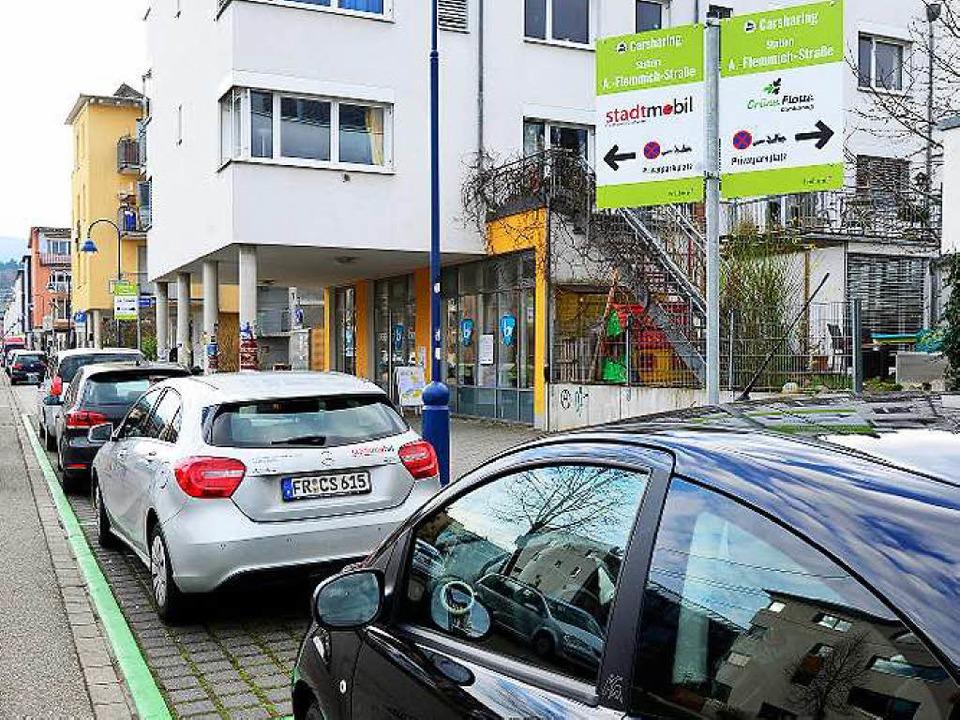 Das Bedürfnis nach Parkplätzen für Car...den, erscheint nicht unproblematisch.   | Foto: Ingo Schneider