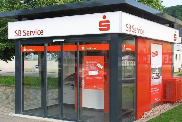 Diebe knacken SB-Bankfiliale: 100 000 Euro Schaden