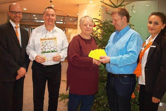Gewerbeverein zieht Gewinner der Glücksstern-Aktion