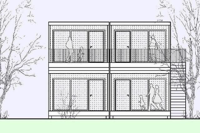 Flüchtlingsunterbringung: Holzkubus statt Wohncontainer