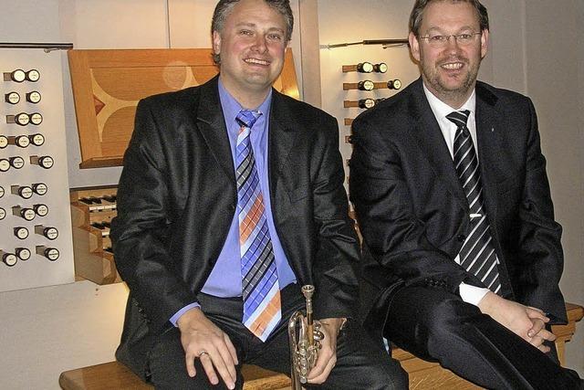 Carsten Klomp und Rudolf Mahni in Kollnau