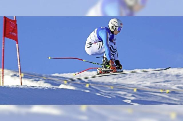 Yannik Zeller und Tim Siegmund fahren bei Speedrennen der National Junior Race-Serie vorne mit