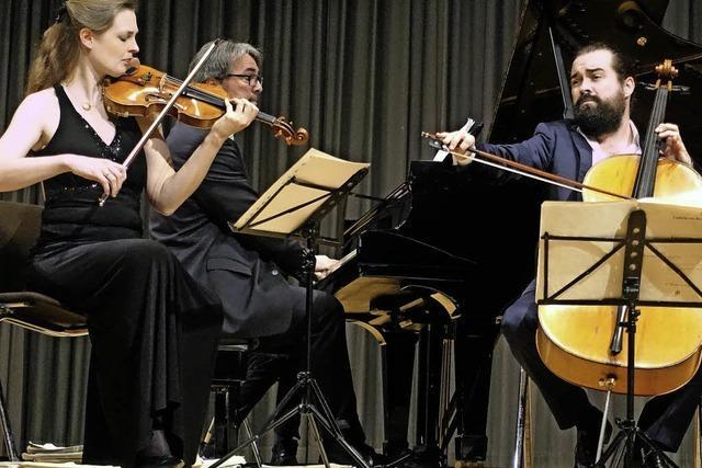Atos Trio im Bad Säckinger Kursaal